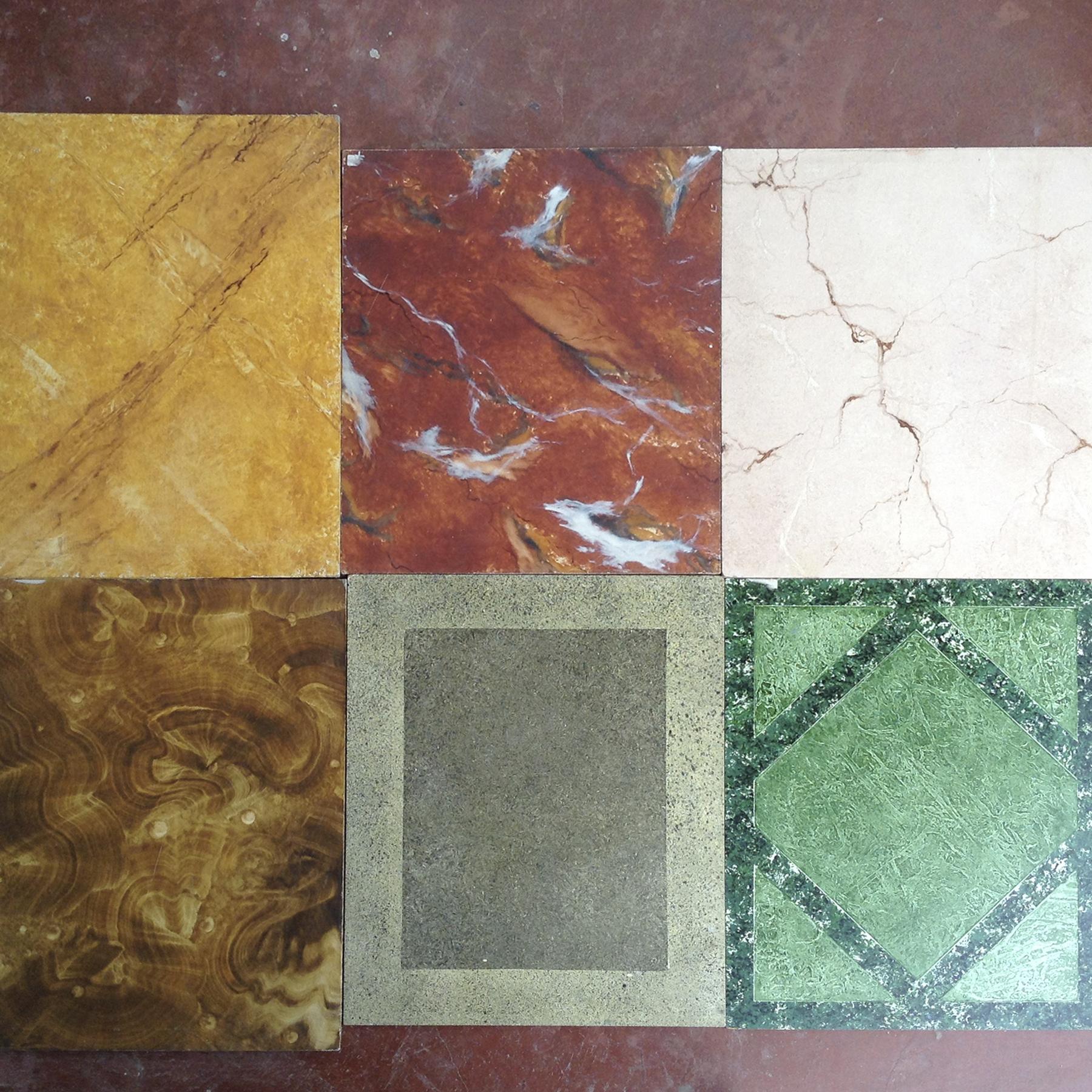 Pintura decorativa  muestras  marmol  piedra