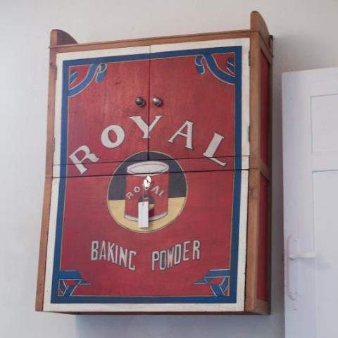 Fresquera levadura royal armario transfomacion cocina original vintage