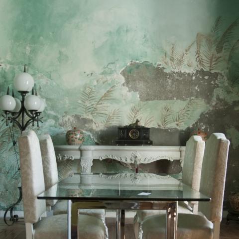 pintura decorativa habana decadente 3 desgastada desgastes