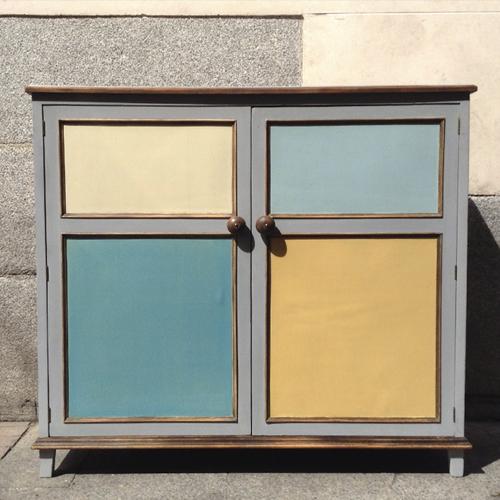 armario colores provenza zapatero transformacion reciclaje restauracion muebles mobiliario vintage antiguedades decoracion interiorismo madrid toledo