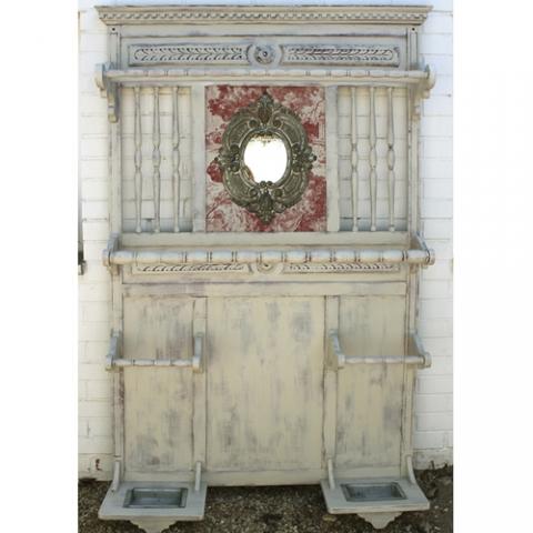 perchero vintage transformacion reciclaje restauracion muebles mobiliario vintage antiguedades decoracion interiorismo madrid toledo