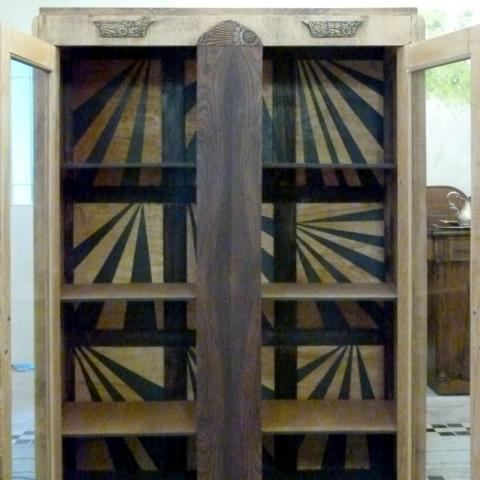 Reciclaje pintura interior Armario Deco